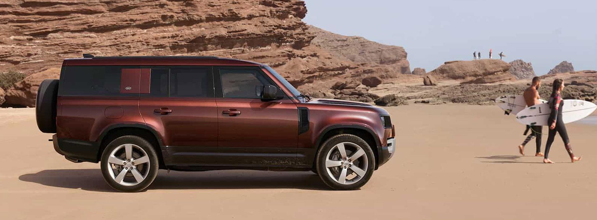 Land Rover New Car Range