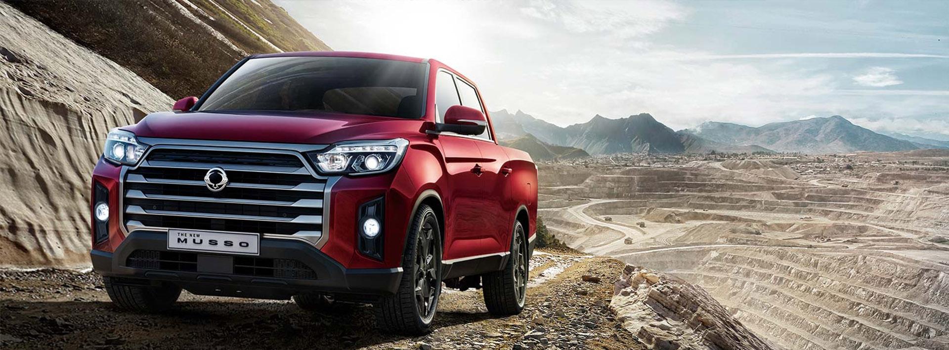 SsangYong New Car Range