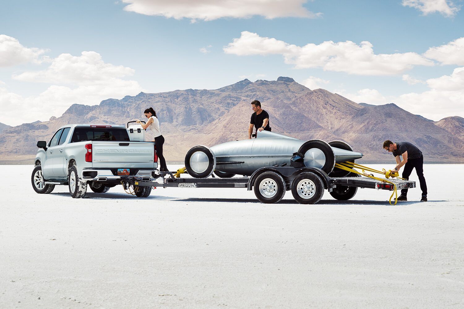 Included Trailering Package