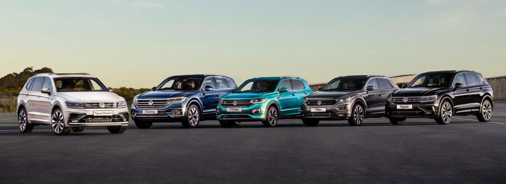 Volkswagen New Car Range