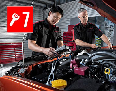 7 Years Capped Price Servicing>