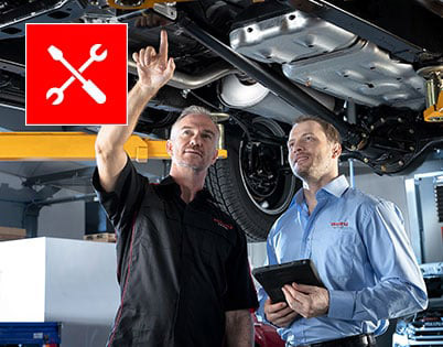 GENUINE SERVICE & APPROVED PARTS