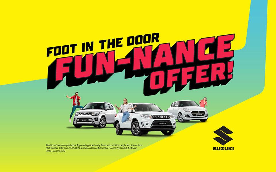 latest suzuki offers deal