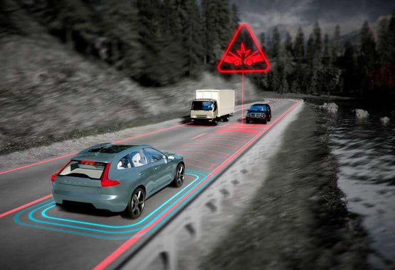 Oncoming mitigation by braking